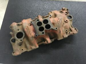 Oem 1962 Chevrolet 327 Engine 4 Barrel Intake Manifold 3783244 Dated Late 1961