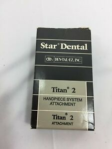 Dental Handpiece Star Dental Latch Head Ball Bearing Titan 2 58060f