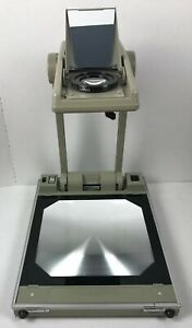 Buhl Model 200 Folding Portable Overhead Projector Compact Needs Bulb