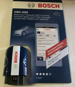 Bosch Obd 1050 Bluetooth Mobile Scan Tool Obd2 Smartphone Diagnostics