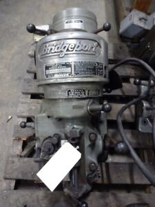 Bridgeport Milling Head 1 1 2 Hp