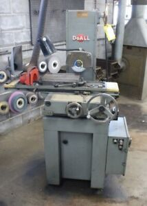 Doall Surface Grinder 6x12 Magnetic Chuck Model Dh 612