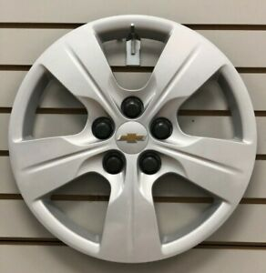 2016 2019 Chevy Cruze 15 5 Spoke Silver Bolt On Hubcap Wheelcover 13399300