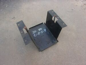 1934 1940 Plymouth Dodge Desoto Chrysler Usa Made Steel Battery Tray