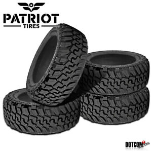 4 X New Patriot Mt 315 75r16 127 124q All Terrain Mud Tire