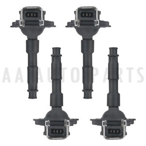 Set Of 4 Ignition Coil For Vw Jetta Golf Audi A3 A4 A8 Quattro C1169 Uf290