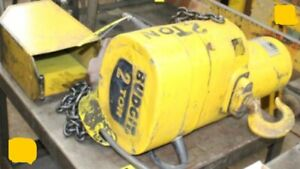 Budgit 2 Ton Electric Chain Hoist With Pendant