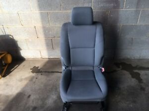 2006 Toyota Tacoma Passenger Seat Front Right Seat Gray Used