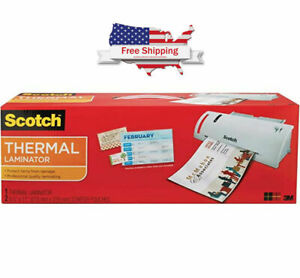 Scotch Thermal Laminator 14 75 X 4 75 X 3 75 Inches Tl902a W free Shipping