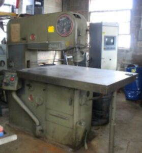 Doall 36 Model 3612 3 Vertical Band Saw With Blade Welder Extra Blades