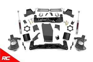 Rough Country 6 Lift Kit Fits 2014 2018 Chevy Silverado Gmc Sierra 4wd 22730