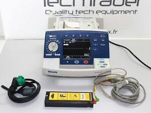 Philips Heartstart Xl Aed Defibrillator With Pacing And Cables M4735a