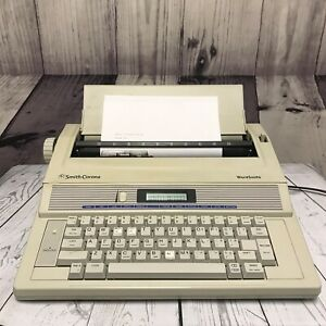 Smith Corona Wordsmith Typewriter Ka13 Portable Digital Word Processor z5