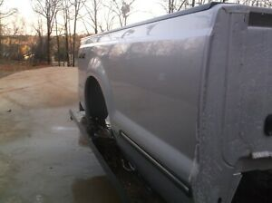 1999 2000 2001 2007 Ford F250 F350 Truck Bed Truckbed 8ft Lwb Silver