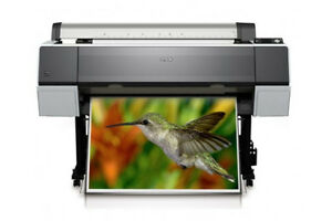 Epson Stylus Pro 9890 Wide Format Inkjet Printer Only 110 Total Page Count