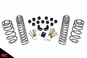 Rough Country 3 75 Dual Lift Kit Fits 1997 2006 Jeep Wrangler Tj 4wd Body
