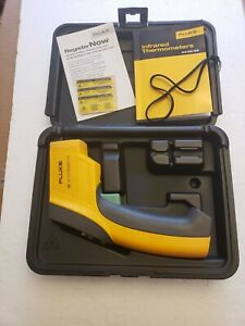 Fluke 66 Ir Thermometer W Case Manual Infrared