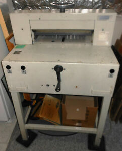 Triumph Guillotine Paper Cutter Columbus Oh Local Pickup Only