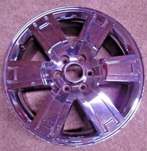 2007 2011 Ford Expedition 20 Chrome Oem Wheel