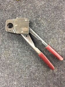 3 4 Pex Crimper Plumbing Compact Crimp Tool By Mil 3 made In Usa
