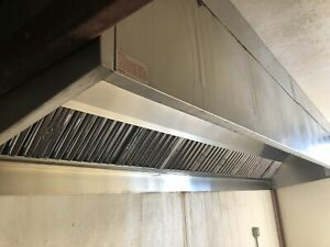 16 Greenheck Ghw 16 s Restaurant Commercial Kitchen Grease Exhaust Vent hood