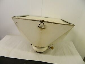 Antique Hoosier Cabinet Tin Metal Flour Dispenser Part S Working Sifter 2