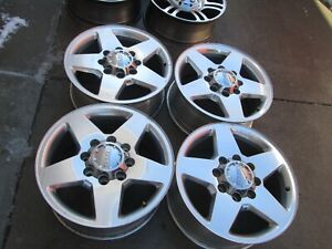 20 Chevy Gmc 2500 Hd 3500 Hd Oem Factory Polished Wheels Rims Gm