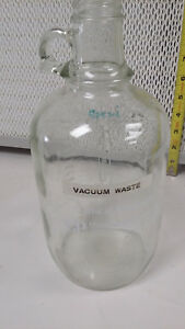 Clinical Products Lab Glassware Half Gallon Glass Jug 141549 lot Of 3