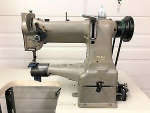 Singer 153 B8b Cylinder Bed Walking Foot Reverse 110v Industrial Sewing Machine