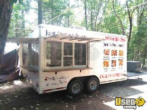 8 X 15 9 Food Concession Trailer With Porch For Sale In Oregon