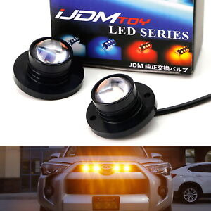 Led Surface Flush Mount Spot Light Kit For Car Truck Suv Jeep 4x4 Side Markers