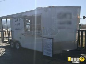 2015 8 X 18 Food Concession Trailer With Porch For Sale In Virginia