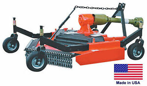 Finish Cut Mower Commercial 3 Point Hitch Mounted Pto Driven 48 Cut