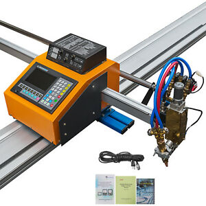 Portable Cnc Machine With Thc For Gas plasma Cutting Dc 24v Lcd Screen 2 Axis