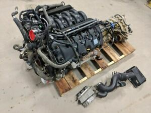 2013 Ford F150 5 0 Coyote Engine Liftout Complete 6r80 4x4 Trans Tcase 71k Miles