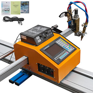 Portable Cnc Machine With Thc For Gas plasma Cutting Stable Lcd Screen Accurate