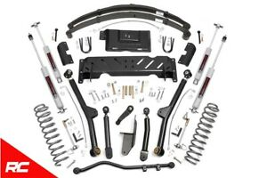 Rough Country 4 5 Lift Kit fits 1984 1986 Jeep Cherokee Xj 4wd Long Arm Susp