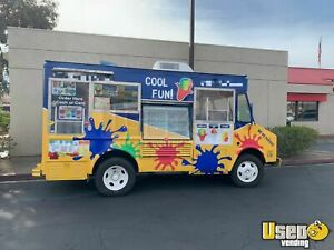 Gmc P30 Shaved Ice Food Truck For Sale In California
