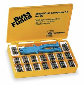 Bussmann Fuse Kit Midget And Cc Class Fuse Kit Kit Type No 36