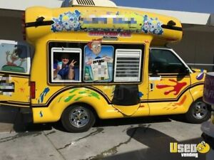 Shaved Ice Truck For Sale In California