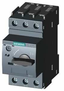Siemens Rotary Knob Manual Motor Starter No Enclosure 34 To 40 Amps Ac