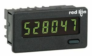 Red Lion Electronic Counter Number Of Digits 6 Backlit Yellow green Lcd