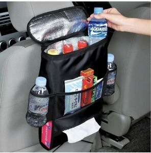 Car Seat Back Organizer Multi Pocket Travel Storage Bag Mesh Pockets