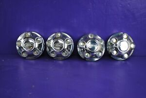 98 01 Ford Explorer Ranger 15 Wheel Center Hub Cap Chrome 4 Set Yl54 1a096 Ba