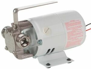 Little Giant 1 10 Hp Stainless Steel Compact Utility Pump Intermittent 360s