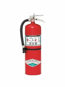 Amerex Halotron Fire Extinguisher With 11 Lb Capacity And 9 Sec Discharge Time