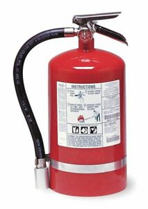Kidde Halotron Fire Extinguisher With 11 Lb Capacity And 11 Sec Discharge Time