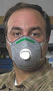 Willson N95 Disposable Particulate Respirator Gray S 10pk 14110396