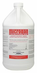 Microban 1 Gal Institutional Disinfectant 1 Ea 221552000
