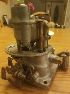 1955 Lincoln 341 Y Motor Carburetor